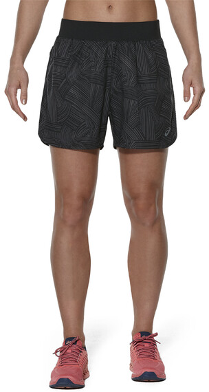 asics fuzeX 5.5In Print Short Women Brush Shark